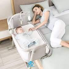 Bí quyết mua giường cũi cho giấc ngủ của bé sơ sinh chất lượng
