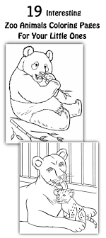 Top 25 Free Printable Zoo Coloring