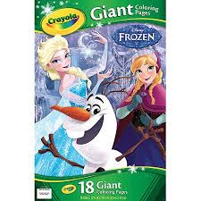 Small Picture Crayola Giant Coloring Pages Disney Frozen Walmartcom
