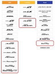 Differences Between Shimano Tourney Altus Acera And