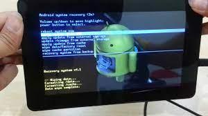 Tablet Açılış Şifresi Sıfırlama,Tablet Format