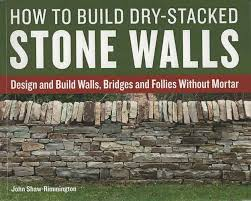 Image result for dry stack stone wall