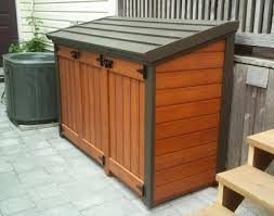 garbage storage photo full size of  gorgeous wooden garbage storage shed creative outdoor st