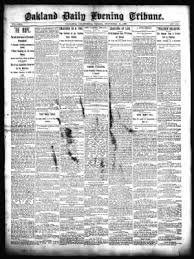 Oakland Tribune from Oakland, California on November 14, 1890 · Page 1