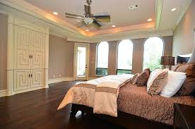 tray ceiling lighting ideas. Subtle Tray Ceiling Lighting Ideas Bedroom Designed With Neutral Wall Colors And Hardwood Floors Also N