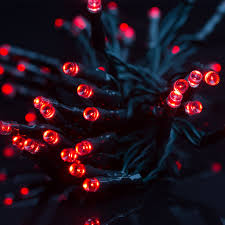 Battery Operated Red Led Lights Red Led Battery Operated Fairy Lights 40pc