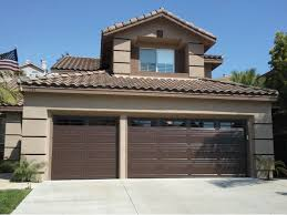 brown garage doors with windows. Photo Of Garage Doors And Windows - Fountain Valley, CA, United States. Brown With