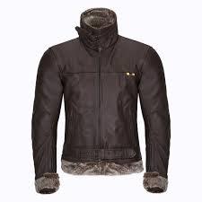men s leather moto jacket w tec nf 1125 brown