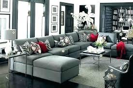 red gray living room ideas love
