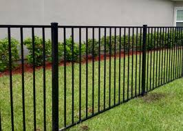 Residential Black Wrought Iron Fence Panels For Flat Top mm
