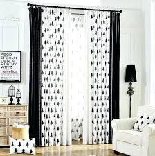 white curtain panels. Black And White Curtain Panels Polka Dot .