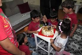 Yozgatlı beşizlere yaş günü kutlaması