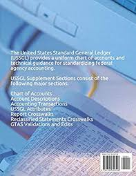Ussgl Chart Of Accounts Us Standard General Ledger 2018 2019 By Us Treasury Amazon Ae