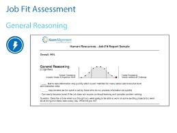 job fit hiring assessment coaching report job fit job fit details job fit details 2