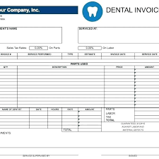 Free Invoice Forms Doctor Invoice Form And Pharmacy Bill Format In Excel La