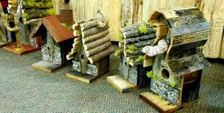 Rustic Birdhouses Birds And Beasleys Rustic Birdhouses