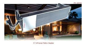 overhead outdoor heaters model 5 shown above adjule heat ceiling mounted outdoor patio heaters