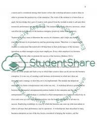 reflective report of creativity in enterprise essay reflective report of creativity in enterprise essay example