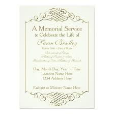 memorial service invitation memorial service invitation cards business mate memorial service