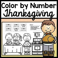 The color wheel shows the relationship between colors. Your Students Will Practice Their Numbers With These Fun Thanksgiving Coloring Pages Included In This Download Are Four Thanksgiving Coloring Pages Each Page Has 25 Numbers And Six Colors Your Students Will Color The Picture Using The Numbers As A