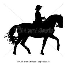 horse riding clipart black and white. Interesting Riding Traditional Horse Riding  Csp4626034 With Horse Riding Clipart Black And White R