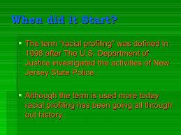 racial profiling 4