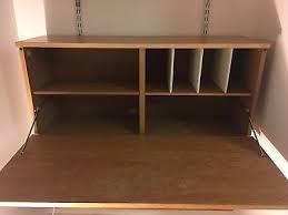 mid century modular bureau and shelves