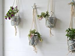 macrame plant hanger patterns for beginners