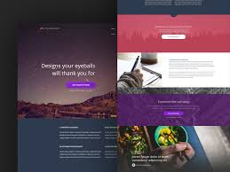 Free Website Template Mesmerizing Pex Free PSD Template By Blaz Robar Dribbble
