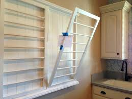 laundry drying rack wall custom made wall mounted folding drying rack for laundry room with interesting