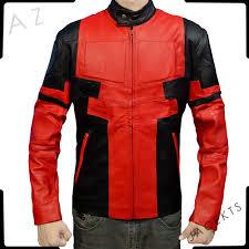 deadpool motorcycle jacket