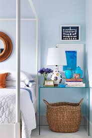 Blue Bedrooms Simple Design