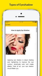 how to apply eyeshadow eye makeup if you wear gles screenshot 2