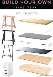 office desk table tops. Table Tops And Legs Build Your Own Desk White Top Trestle Desks  . Office R