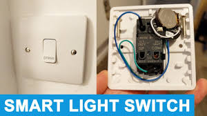 light switch for a smartthings home