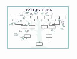 Family Tree Templates Microsoft Family Tree Template With Siblings Fresh Family Tree Flow Chart
