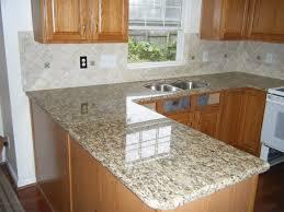 backsplash for santa cecilia granite countertop. Wooden Kitchen Island With Santa Cecilia Granite Countertop Plus Sink Before The Tile Backsplash For H