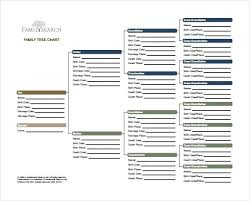 Free Family Tree Templates Word Excel Template Lab In Blank ...