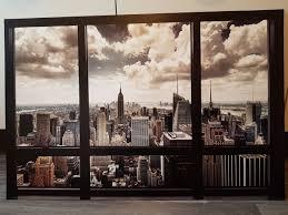 Bild Blick Durch Fenster Auf New York In 69221 Dossenheim Für