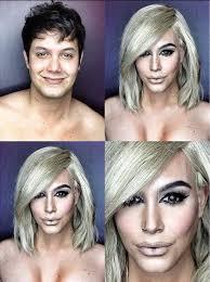 insram makeup artist transforms himself into kim kardashian and