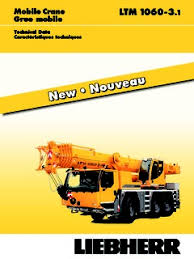 Liebherr Ltm 1060 3 1 Specifications Cranemarket