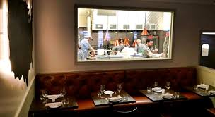Open Kitchen Design View of Pax Americana Restaurant Houston Texas