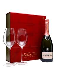 bollinger rose nv gles gift set brut chagne bollinger chagne from fraziers wine merchants
