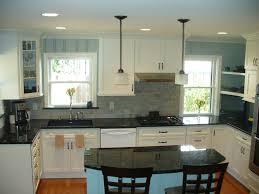 Cottage Kitchen Furniture Cottage Kitchen Done Cream Cabinets Wood Floors