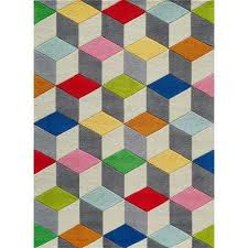 lil mo hipster color cubes multi 8 ft x 10 ft indoor kids area