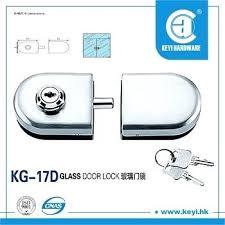 glass cabinet lock double sided door locks for ikea