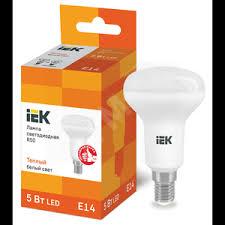 <b>Лампа светодиодная LED</b> рефлекторная <b>5вт E14</b> R50 тепло ...