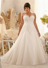 plus size wedding dresses with corset 2466