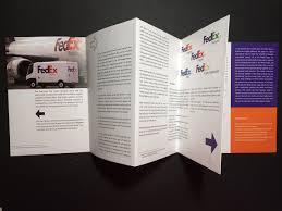 Fedex Brochure Design History Of Fedex Logo Booklet Design On Behance