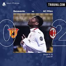 Tonali 4.5, Kessie 7.5: le pagelle dei giocatori del Milan contro il  Benevento